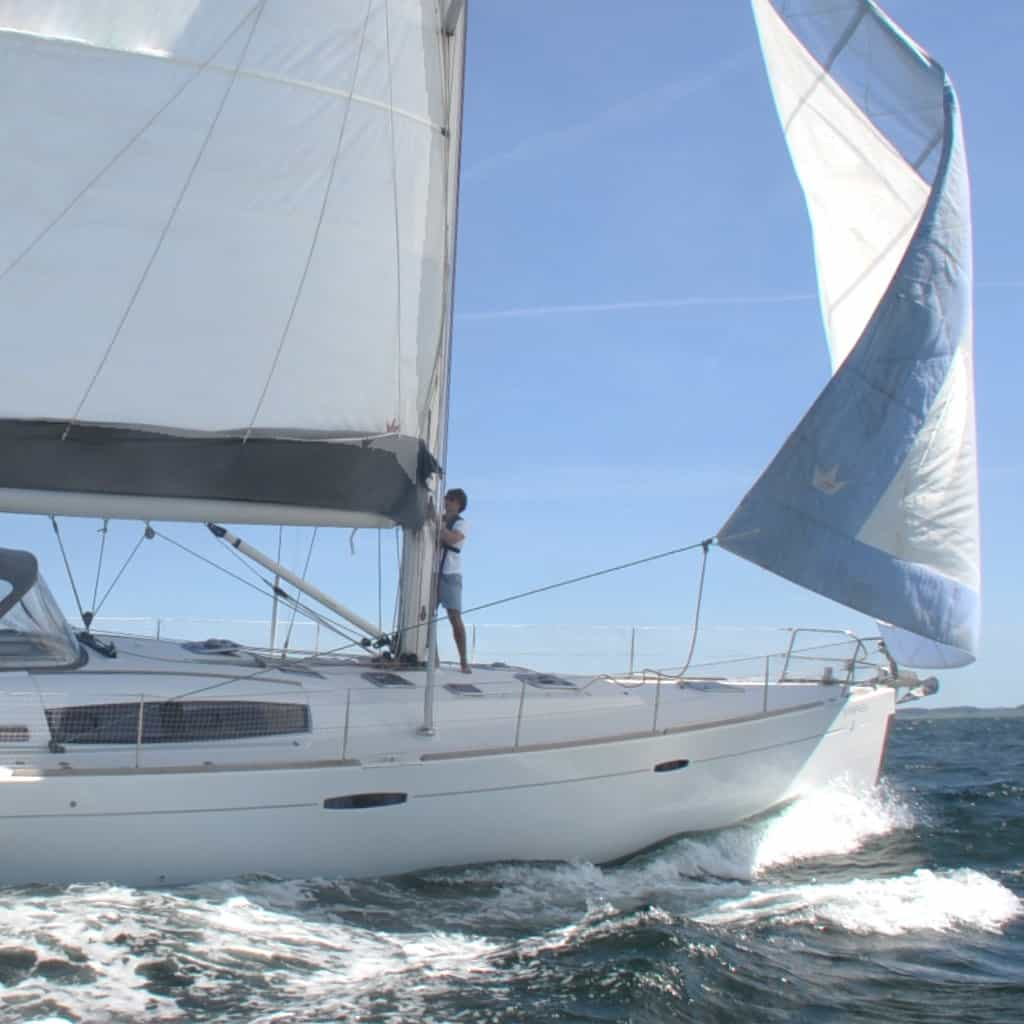 Vi sætter sejl på Sailors store båd