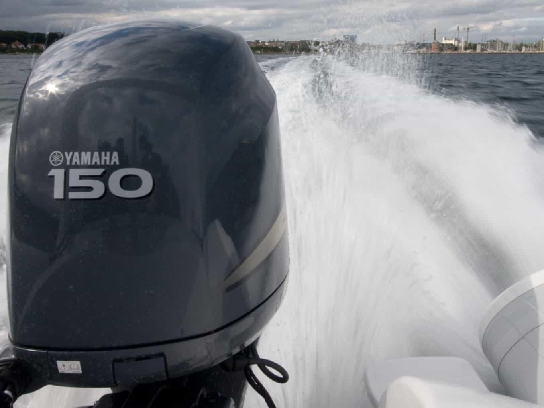 Båden som bruges til Speedbådskørekort